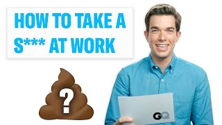 Download Need to Take a S*** at Work? Comedian John Mulaney Explains How – GQ Celebrity Life Advice Video