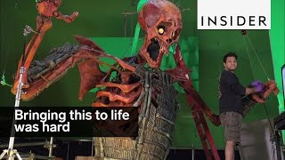 Download It was super hard to bring the skeleton from ″Kubo and the Two Strings″ to life Video