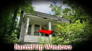 Download Strange Abandoned House With Barred Up Windows Video