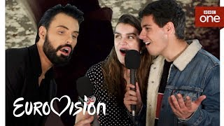 Download Meet the Eurovision 2018 artists with Rylan: Part One - BBC One Video