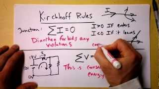 Download Kirchhoff's Loop and Junction Rules Theory | Doc Physics Video