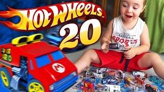 Download HOT WHEELS COLEÇÃO DE 20 CARROS DE BRINQUEDO - Hot Wheels Collection 20 Toy Cars Video