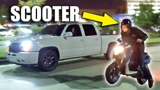 Download SLEEPER Scooter Goes Street Racing Video