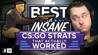 Download Best of Insane CS:GO Strats that Actually Worked... and Some that Didn't Video
