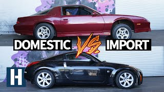 Download Build & Battle 3: Gymkhana GRID! Chevy Camaro vs Nissan 350z Faceoff EP.1 Video