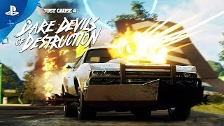 Download Just Cause 4 - Dare Devils of Destruction Trailer   PS4 Video