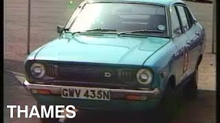 Download The rise of foreign cars | Common Market | Vintage cars | Drive In | 1974 Video