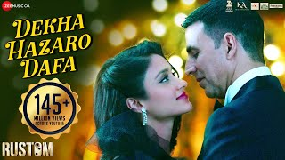 Download Dekha Hazaro Dafaa - Full Video | Rustom | Akshay Kumar & Ileana D'cruz | Arijit Singh Palak| Jeet G Video