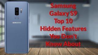 Download Samsung Galaxy S9 Top 10 Hidden Features (20 Tips & Tricks Part 1) - YouTube Tech Guy Video