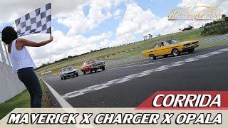 Download CORRIDA - MAVERICK GT X CHARGER R/T X OPALA SS - DESAFIO ESPORTIVOS ANOS 70 | ACELERADOS Video