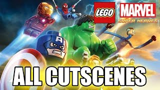 Download LEGO Marvel Super Heroes (2013) FULL GAME MOVIE All Cutscenes TRUE-HD QUALITY Video