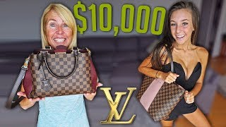 Download BUYING MY GIRLFRIEND & MOM LOUIS VUITTON BAGS/WALLETS! Video