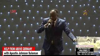 Download Help From Above Germany - Day 1 Morning Session (Apostle Johnson Suleman) Video