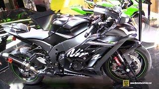 Download 2017 Kawasaki Ninja ZX10RR - Walkaround - 2016 EICMA Milan Video