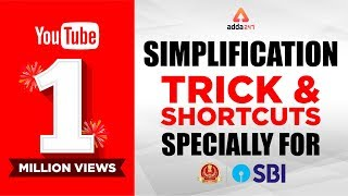 Download SBI PO & SSC Simplification Tricks and Shortcut Video