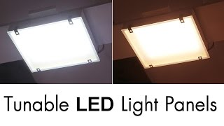 Download Super Bright Tunable LED Light Panels Video