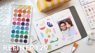Download Wedding Bullet Journal - Plan With Me   Lucie Fink Vlogs   Refinery29 Video