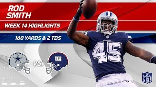 Download Rod Smith Breaks Off 2 TDs & 160 Yards vs. NY! | Cowboys vs. Giants | Wk 14 Player Highlights Video