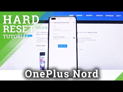 How to Hard Reset OnePlus Nord – Wipe Data / Factory Reset