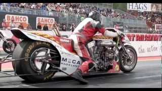 Download Top fuel bikes at Veidec Nitro Festival 2010 Video