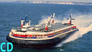 Download What Happened to the Giant Hovercraft SR-N4? - The Concorde of the Seas Video