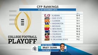 Download FOX College Football Analyst Brady Quinn Talks CFB Playoffs & More - 12/2/16 Video