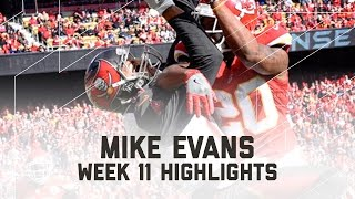 Download Mike Evans' 105-Yard Game! | Buccaneers vs. Chiefs | NFL Week 11 Player Highlights Video