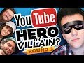 Download Drawing YOUTUBERS as HEROES & VILLAINS - ROUND 3! Video