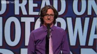 Download Unlikely Things To Read On A Motorway Sign - Mock The Week - Series 10 Episode 5 - BBC Two Video