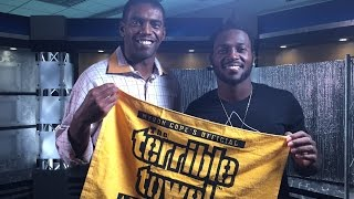 Download Antonio Brown and Randy Moss interview Video