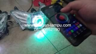 Download Angel eye wirelles multicolour rgb android wifi remote Video