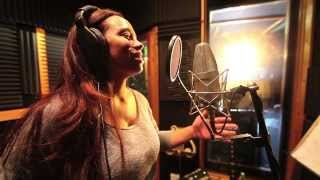 Download Amazing vocalist shocks a group of musicians in the studio... Video