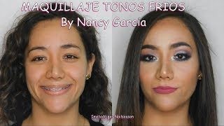 Download Maquillaje de fiesta tonos frios - Invitada especial Nancy Garcia Video