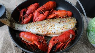 Download Catch n' Cook SPICY Crawfish and WILD Trout! Video