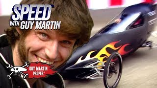 Download The World's Fastest 85.6mph Gravity Racer | Guy Martin Proper Video