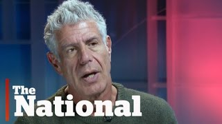 Download Anthony Bourdain on food, travel and politics Video