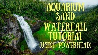 Download Aquarium Sand Waterfall DIY (Using Powerhead) Video