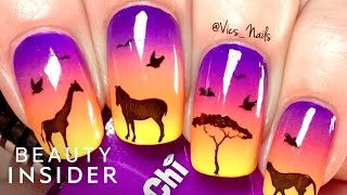 Download Nail Artist Is A Stamping Master Video