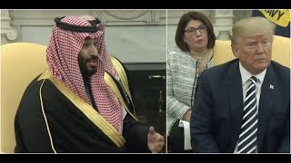Download Saudi Crown Prince Mohammad bin Salman SHOCKS President Donald Trump at White House Meeting Video