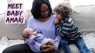Download MEET BABY AMARI!! Video