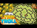 Download Clash of Clans - BEST TOWNHALL 9 TROLLING BASE! Clan Wars and Trophy Base! Video