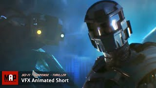 Download Sci-Fi CGI 3D Animated Short ″AZARKANT″. Incredible Halo Styled VFX Animation By Andrey Klimov Video