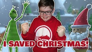 Download I SAVED CHRISTMAS from the GRINCH! Video