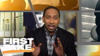 Download Stephen A. Smith tells Ezekiel Elliott to 'go the hell home' | First Take | ESPN Video