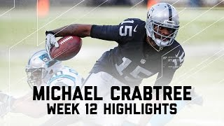 Download Michael Crabtree's 110-Yard Day (Week 12 Highlights) | Panthers vs. Raiders | NFL Video