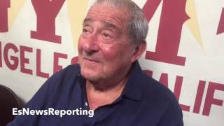 Download BOB ARUM: MIKEY GARCIA VS LOMACHENKO POSSIBLE IF MIKEY DOESNT MAKE IT ″IMPOSSIBLE″ WITH PURSE DEMAND Video