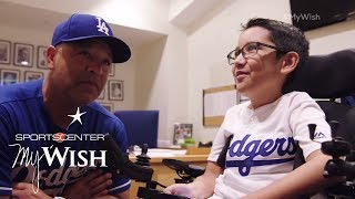Download Ziggy Manages The Dodgers | My Wish | ESPN Stories Video