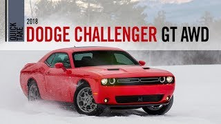 Download 2018 Dodge Challenger GT All Wheel Drive Quick Take Review Video