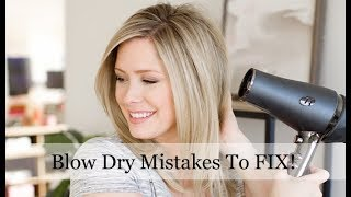 Download Blow Dry Mistakes You May Be Making and HOW to Fix Them! Video