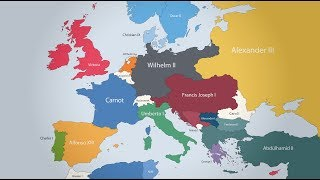 Download The Rulers of Europe: Every Year Video